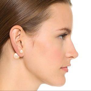 Jewelry - Double pearl stud earrings